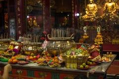 Θυσία στους Θεούς στο ναό Kammalawat, Ταϊλάνδη δράκων στοκ εικόνες με δικαίωμα ελεύθερης χρήσης