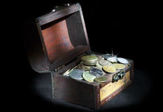 θωρακικά νομίσματα Στοκ Εικόνα