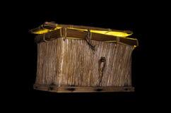 θωρακικός θησαυρός ξύλινος Στοκ φωτογραφία με δικαίωμα ελεύθερης χρήσης