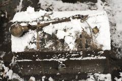 Θωρακικό κλειδί σιδήρου Στοκ Φωτογραφίες