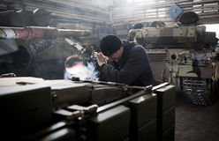 Θωρακισμένο εργοστάσιο του Κίεβου Στοκ Εικόνες