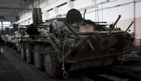 Θωρακισμένο εργοστάσιο του Κίεβου Στοκ εικόνα με δικαίωμα ελεύθερης χρήσης