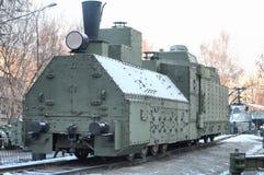 θωρακισμένο τραίνο Στοκ εικόνες με δικαίωμα ελεύθερης χρήσης