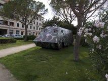 Θωρακισμένο όχημα μεταφορέων στρατευμάτων Στοκ Εικόνες