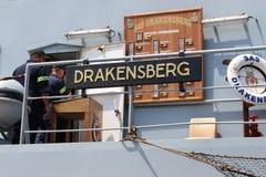 Θωρηκτό Drakensberg Στοκ εικόνα με δικαίωμα ελεύθερης χρήσης