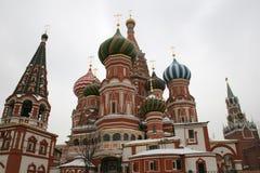 θόλοι Άγιος βασιλικών στοκ φωτογραφία με δικαίωμα ελεύθερης χρήσης