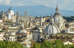 Θόλοι της Ρώμης Στοκ εικόνα με δικαίωμα ελεύθερης χρήσης
