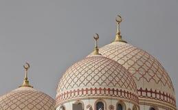 Θόλοι του μουσουλμανικού τεμένους Al Saleh Στοκ Φωτογραφία