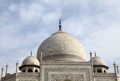 Θόλοι Taj Mahal Στοκ φωτογραφία με δικαίωμα ελεύθερης χρήσης