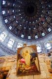 θόλος εκκλησιών μέσα σε voskresensky Στοκ Φωτογραφίες