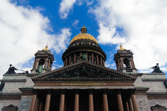 θόλος καθεδρικών ναών isakievsky Στοκ φωτογραφίες με δικαίωμα ελεύθερης χρήσης