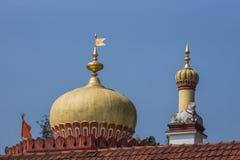 Θόλος και πυργίσκος του ναού Shree Omkareshwara, Madikeri Ινδία Στοκ φωτογραφία με δικαίωμα ελεύθερης χρήσης