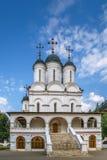, θόλος, σταυρός, καλοκαίρι, καθεδρικός ναός σε Bolshie Vyazyomy, Ρωσία Στοκ εικόνες με δικαίωμα ελεύθερης χρήσης