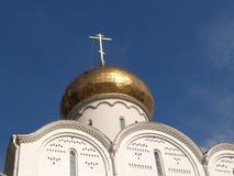 Θόλος της εκκλησίας του Nicholas το Wonderworker της παλαιάς κοινότητας πεποίθησης Tver Μόσχα στοκ εικόνες