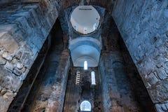Θόλος της κεντρικής εκκλησίας σε Arkhyz από μέσα Στοκ Εικόνα
