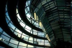 θόλος του Βερολίνου reichstag Στοκ Φωτογραφίες