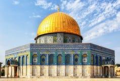 Θόλος του βράχου, Qubbat Al-Sakhrah, Ιερουσαλήμ, Ισραήλ στοκ εικόνες με δικαίωμα ελεύθερης χρήσης