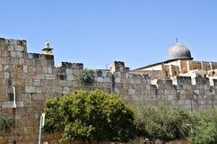 Θόλος EL Aqsa Στοκ φωτογραφία με δικαίωμα ελεύθερης χρήσης