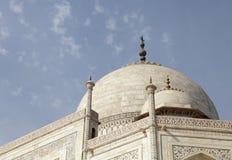 Θόλος Taj Mahal Στοκ Εικόνες