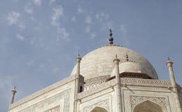 Θόλος Taj Mahal Στοκ φωτογραφία με δικαίωμα ελεύθερης χρήσης