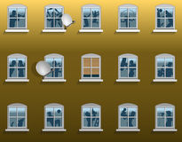 Θόρυβος γειτονιάς διανυσματική απεικόνιση