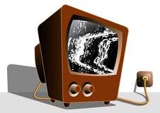 Θόρυβος τηλεοπτικής TV σωλήνων Στοκ Εικόνες
