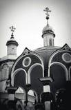 Θόλοι εκκλησιών στην τριάδα Sergius Lavra στοκ φωτογραφία