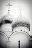 Θόλοι εκκλησιών στην τριάδα Sergius Lavra στοκ εικόνες με δικαίωμα ελεύθερης χρήσης