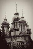 Θόλοι εκκλησιών στην τριάδα Sergius Lavra στοκ φωτογραφία με δικαίωμα ελεύθερης χρήσης