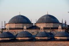 Θόλοι μουσουλμανικών τεμενών στοκ εικόνες