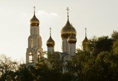 θόλοι Ρωσία Στοκ εικόνα με δικαίωμα ελεύθερης χρήσης