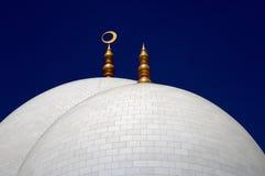 Θόλοι σε ένα μουσουλμανικό τέμενος Στοκ Φωτογραφίες