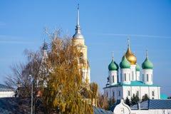 Θόλοι σε Kolomna στοκ φωτογραφίες με δικαίωμα ελεύθερης χρήσης