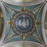 Θόλοι της βασιλικής του fourviere στοκ φωτογραφία με δικαίωμα ελεύθερης χρήσης