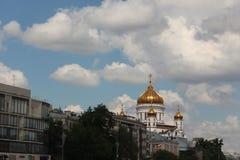 Θόλοι του καθεδρικού ναού Χριστού ο λυτρωτής στοκ εικόνα με δικαίωμα ελεύθερης χρήσης
