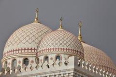 Θόλοι του μουσουλμανικού τεμένους Al Saleh Στοκ Φωτογραφίες