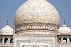 Θόλοι του Taj Mahal, Agra, Ινδία στοκ εικόνα