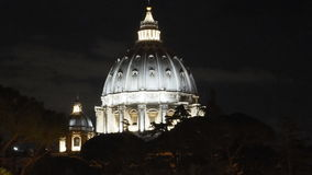 Θόλος Άγιος Peter Βατικανό Στοκ φωτογραφία με δικαίωμα ελεύθερης χρήσης