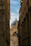 Θόλος εκκλησιών σε Dubrovnik Στοκ Φωτογραφίες