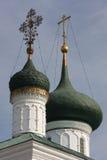 Θόλος εκκλησιών σε Yaroslavl Στοκ Εικόνες
