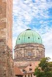 Θόλος εκκλησιών της Elisabeth στη Νυρεμβέργη, Γερμανία Στοκ εικόνες με δικαίωμα ελεύθερης χρήσης