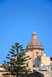 Θόλος εκκλησιών του ST Lawrence, Vittoriosa Στοκ εικόνες με δικαίωμα ελεύθερης χρήσης