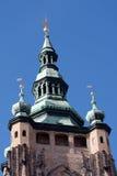 Θόλος καθεδρικών ναών στην Πράγα Στοκ φωτογραφίες με δικαίωμα ελεύθερης χρήσης