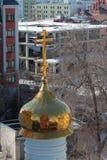 Θόλος καθεδρικών ναών Epiphany kazan Ρωσία Στοκ εικόνα με δικαίωμα ελεύθερης χρήσης