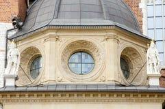 Θόλος καθεδρικών ναών Wawel - Κρακοβία - Πολωνία Στοκ εικόνα με δικαίωμα ελεύθερης χρήσης