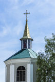 θόλος και σταυρός της Ορθόδοξης Εκκλησίας Στοκ Εικόνα