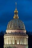 Θόλος κρατικού Capitol της δυτικής Βιρτζίνια στοκ εικόνα με δικαίωμα ελεύθερης χρήσης