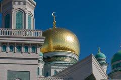 Θόλος μουσουλμανικών τεμενών Στοκ Εικόνα