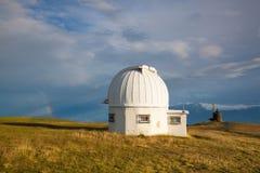Θόλος παρατηρητήριων στο Gerlitzen Apls στην Αυστρία Στοκ Εικόνες