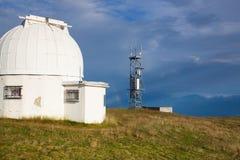 Θόλος παρατηρητήριων στο Gerlitzen Apls στην Αυστρία Στοκ φωτογραφίες με δικαίωμα ελεύθερης χρήσης